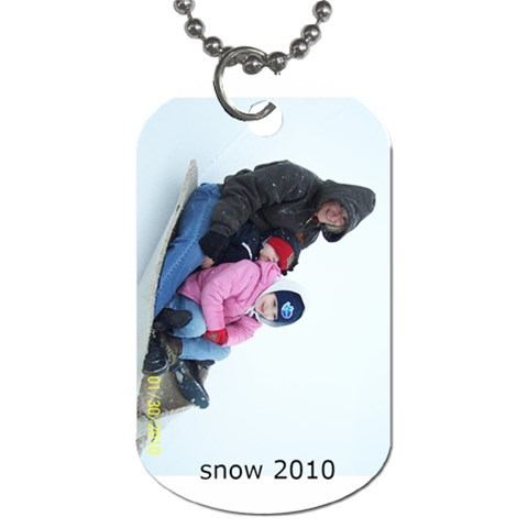 Cheyenne Tags By Angela Emery   Dog Tag (one Side)   Unaiya4n0909   Www Artscow Com Front