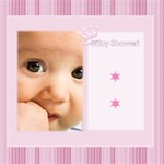 Baby Pink - ScrapBook Page 12  x 12