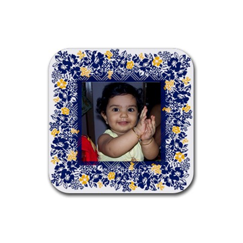 Ena 3 By Anu   Rubber Coaster (square)   Rnmir5p6rooc   Www Artscow Com Front