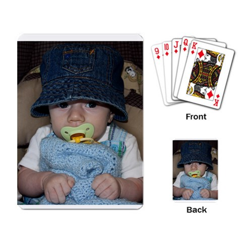 Cards By Jennifer Clemmensen   Playing Cards Single Design   B8cg2qtj1phe   Www Artscow Com Back