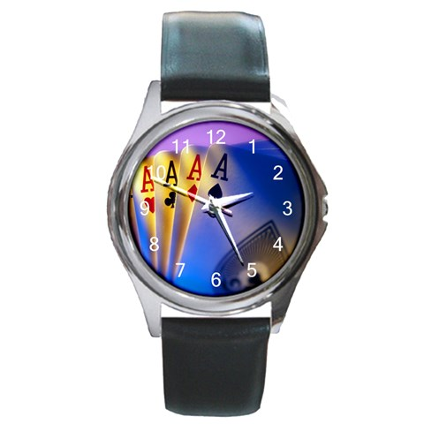 By Kara   Round Metal Watch   Ss4w3emclh74   Www Artscow Com Front