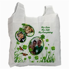Totebag By Dieu Hien Nguyen   Recycle Bag (two Side)   Oq9fy5mbyl76   Www Artscow Com Front