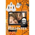 halloween - 5.5  x 8.5  Notebook