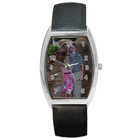 Made For A Friend By Debbie   Barrel Style Metal Watch   Tslfiezncceh   Www Artscow Com Front