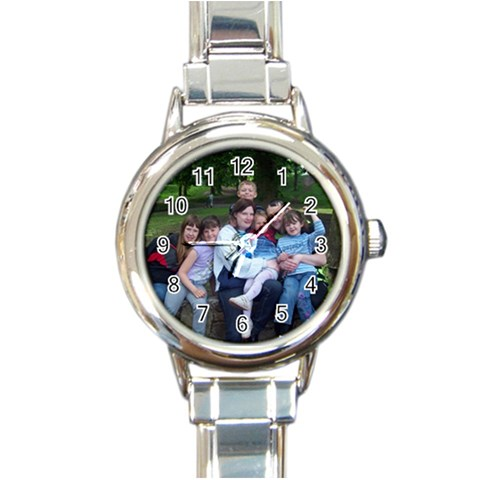 For Lisa By Joanne Johnstone   Round Italian Charm Watch   Ewx80qi4huki   Www Artscow Com Front