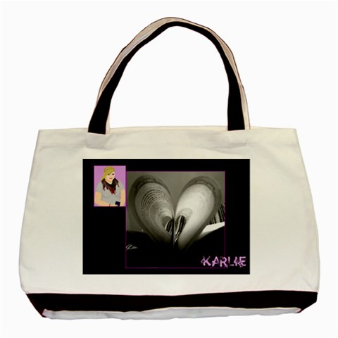 Karlie s Birthday Gift By Ashley B   Basic Tote Bag   Tjmxlymbglmh   Www Artscow Com Front