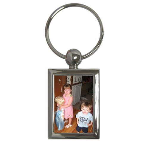 2010 By Nancy   Key Chain (rectangle)   Gc500y1mr8s2   Www Artscow Com Front