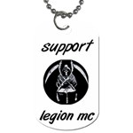 support 1 - Dog Tag (One Side)