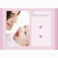 Baby Card By Joely   5  X 7  Photo Cards   433kym6pnzlh   Www Artscow Com 7 x5 Photo Card - 1