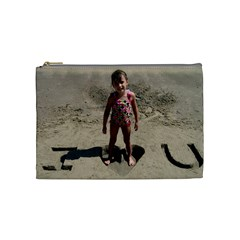 Iluvu By Alicia    Cosmetic Bag (medium)   Tgtcjt5zn11r   Www Artscow Com Front