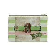 Iluvu By Alicia    Cosmetic Bag (medium)   Tgtcjt5zn11r   Www Artscow Com Back