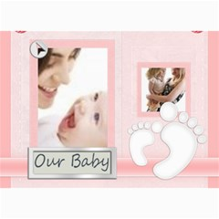 Baby Card By Joely   5  X 7  Photo Cards   E0wqpxvdn3bd   Www Artscow Com 7 x5 Photo Card - 7