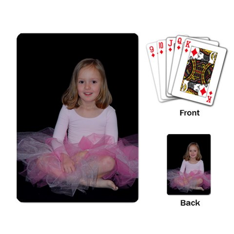 Playing Cards By Amy Kociolek   Playing Cards Single Design   Bfer4s05za31   Www Artscow Com Back