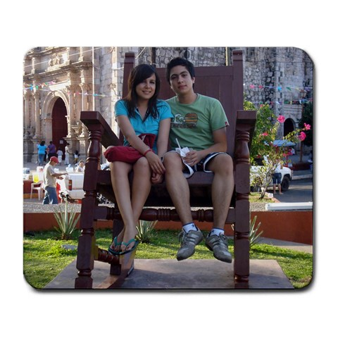 Me&her♥ By Kaleb Ontiveros   Large Mousepad   Nclpe0gw630f   Www Artscow Com Front