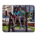 Me&Her♥ - Large Mousepad