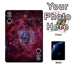 Space Cards By Krista   Playing Cards 54 Designs   Ctci5ufglobx   Www Artscow Com Front - Spade2