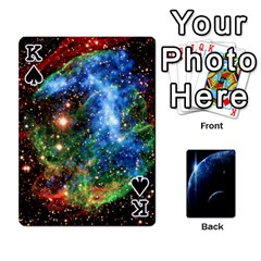 King Space Cards By Krista   Playing Cards 54 Designs   Ctci5ufglobx   Www Artscow Com Front - SpadeK