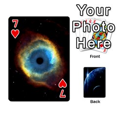 Space Cards By Krista   Playing Cards 54 Designs   Ctci5ufglobx   Www Artscow Com Front - Heart7