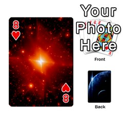 Space Cards By Krista   Playing Cards 54 Designs   Ctci5ufglobx   Www Artscow Com Front - Heart8