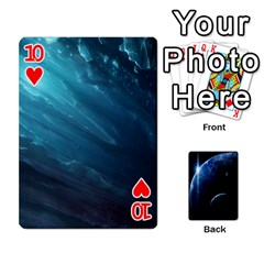 Space Cards By Krista   Playing Cards 54 Designs   Ctci5ufglobx   Www Artscow Com Front - Heart10