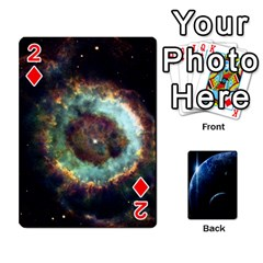 Space Cards By Krista   Playing Cards 54 Designs   Ctci5ufglobx   Www Artscow Com Front - Diamond2