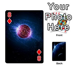 Space Cards By Krista   Playing Cards 54 Designs   Ctci5ufglobx   Www Artscow Com Front - Diamond8