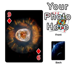 Space Cards By Krista   Playing Cards 54 Designs   Ctci5ufglobx   Www Artscow Com Front - Diamond9