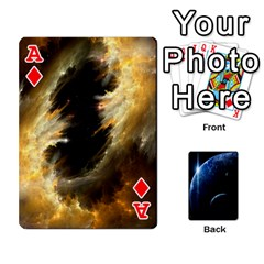 Ace Space Cards By Krista   Playing Cards 54 Designs   Ctci5ufglobx   Www Artscow Com Front - DiamondA