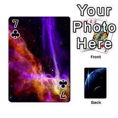 Space Cards By Krista   Playing Cards 54 Designs   Ctci5ufglobx   Www Artscow Com Front - Club7