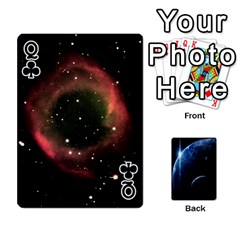 Queen Space Cards By Krista   Playing Cards 54 Designs   Ctci5ufglobx   Www Artscow Com Front - ClubQ