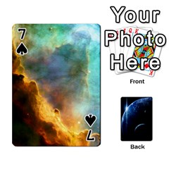 Space Cards By Krista   Playing Cards 54 Designs   Ctci5ufglobx   Www Artscow Com Front - Spade7