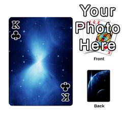King Space Cards By Krista   Playing Cards 54 Designs   Ctci5ufglobx   Www Artscow Com Front - ClubK