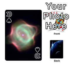 Space Cards By Krista   Playing Cards 54 Designs   Ctci5ufglobx   Www Artscow Com Front - Spade10