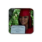 Lauren s Graduation  08 - Rubber Coaster (Square)