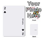 family photo playing cards - Playing Cards 54 Designs