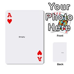 Ace Family Photo Playing Cards By Nicole Hendricks   Playing Cards 54 Designs   Hrgl5eh7w5sr   Www Artscow Com Front - HeartA