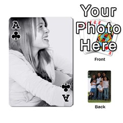 Ace Cards By Nasha Vandevoord   Playing Cards 54 Designs   8n7gqvmx2rdh   Www Artscow Com Front - ClubA