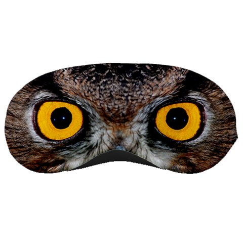Sleep Mask, Owl By Diana P   Sleeping Mask   Hve71hjiudd6   Www Artscow Com Front