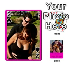 Cards Leah & Jr By Martha Samson   Playing Cards 54 Designs   5d0mm0125a5z   Www Artscow Com Front - Spade2