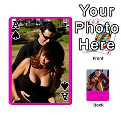 Ace Cards Leah & Jr By Martha Samson   Playing Cards 54 Designs   5d0mm0125a5z   Www Artscow Com Front - SpadeA