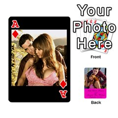 Ace Cards Leah & Jr By Martha Samson   Playing Cards 54 Designs   5d0mm0125a5z   Www Artscow Com Front - DiamondA