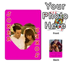 Cards Leah & Jr By Martha Samson   Playing Cards 54 Designs   5d0mm0125a5z   Www Artscow Com Front - Joker2