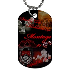 Dog Tag By Harini   Dog Tag (two Sides)   60fi6sw9guhw   Www Artscow Com Back
