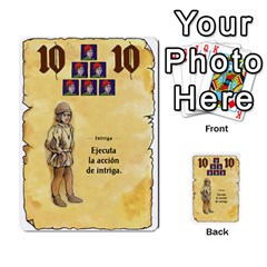 El Grande   Rey E Intriga (2/3) By Juan Luis Bermudez   Multi Purpose Cards (rectangle)   P79hvvp0pit6   Www Artscow Com Front 9