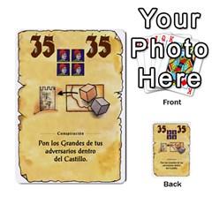 El Grande   Rey E Intriga (2/3) By Juan Luis Bermudez   Multi Purpose Cards (rectangle)   P79hvvp0pit6   Www Artscow Com Front 14