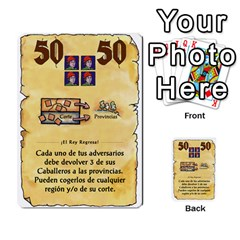 El Grande   Rey E Intriga (2/3) By Juan Luis Bermudez   Multi Purpose Cards (rectangle)   P79hvvp0pit6   Www Artscow Com Front 16