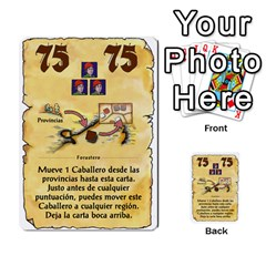 El Grande   Rey E Intriga (2/3) By Juan Luis Bermudez   Multi Purpose Cards (rectangle)   P79hvvp0pit6   Www Artscow Com Front 21