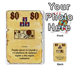 El Grande   Rey E Intriga (2/3) By Juan Luis Bermudez   Multi Purpose Cards (rectangle)   P79hvvp0pit6   Www Artscow Com Front 22
