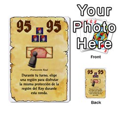 El Grande   Rey E Intriga (2/3) By Juan Luis Bermudez   Multi Purpose Cards (rectangle)   P79hvvp0pit6   Www Artscow Com Front 25