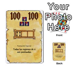 El Grande   Rey E Intriga (2/3) By Juan Luis Bermudez   Multi Purpose Cards (rectangle)   P79hvvp0pit6   Www Artscow Com Front 26